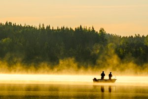 Guided fishing tours in Sweden with local guide and catching guarantee.