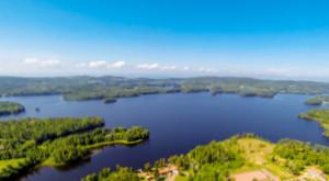 Im See Bunn in Schweden auf Zander, Hecht & Barsch Angeln.