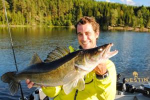 Gef�hrte Angeltouren in Schweden mit Angelf�hrer und Fanggarantie.