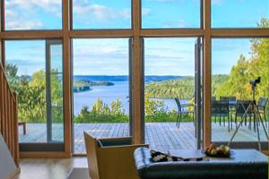 Schweden Ferienhaus in Alleinlage mit grandiosen Seeblick.