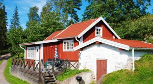 Cottage in Sweden with sauna at lake Bunn.