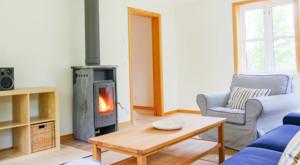 Unser modern eingerichtetes Ferienhaus in Schweden in Alleinlage verfügt über keine Nachbarn.