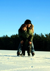 Winterurlaub und Skiurlaub in Smaland - Eislaufen